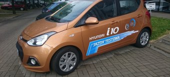 HYUNDAI i10 Comfort + Pakiet ORANGE